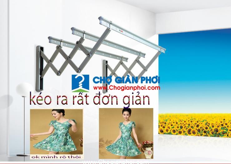 gian phoi nhom nhap khau dai loan ht 12 - Giàn phơi xếp ngang nhập khẩu đài loan HT-11