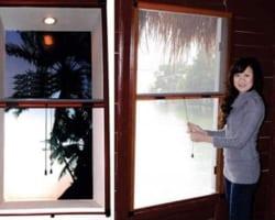 Cửa Lưới Chống Muỗi Tự Cuốn Dọc