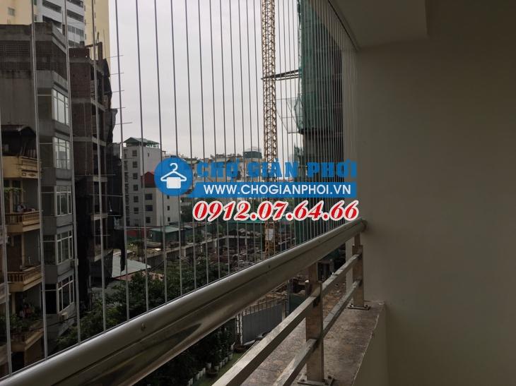 Lắp đặt giàn phơi HP701 chung cư Sun Square – 21 Lê Đức Thọ