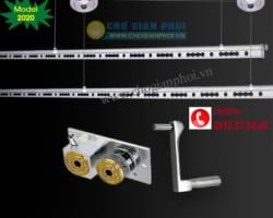 Giàn phơi thông minh cao cấp Hòa Phát LUX-999 (Model 2021)