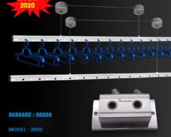 Giàn Phơi Thông Minh SANKAKU SK202 (Model 2021)