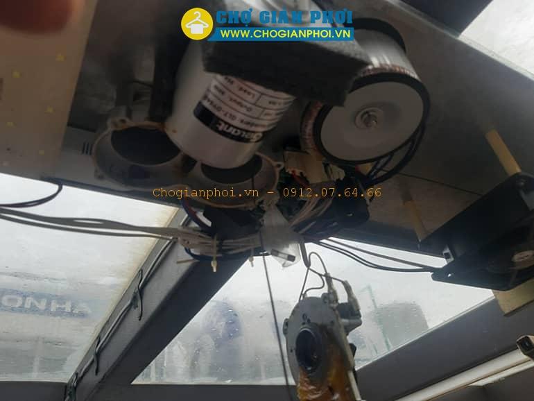 [TIP] Sửa chữa thay dây cáp giàn phơi thông minh điện tử