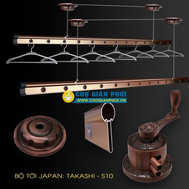 Giàn phơi thông minh Takashi S10