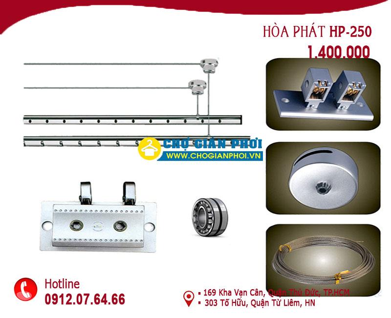 HP250 04092018 - Giàn phơi xếp tường mầu đồng sang trọng HT-18