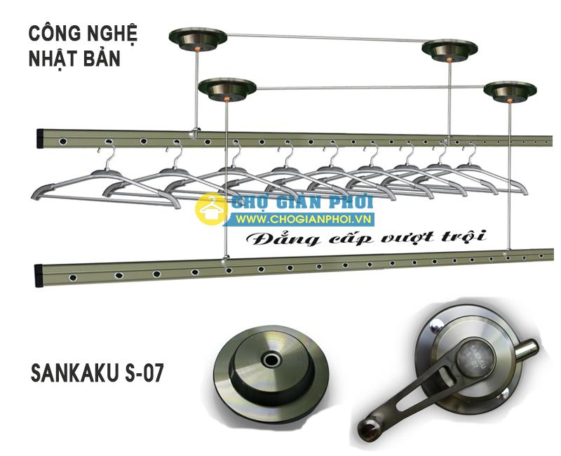 SANKAKU S07 15092018 1 - Giàn Phơi Thông Minh SanKaKu-S07