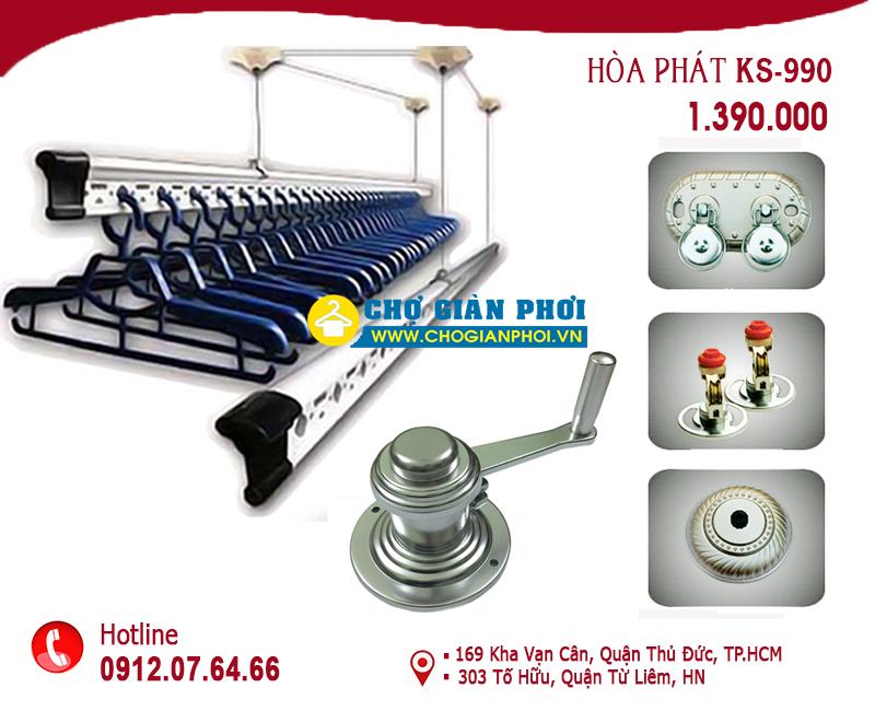 KS990 302082018 - Báo giá giàn phơi thông minh giá rẻ