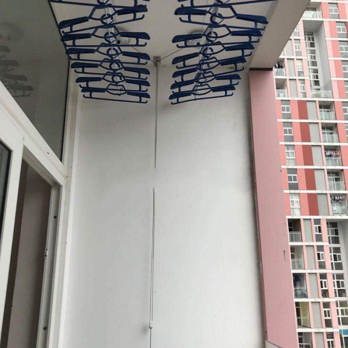 Lắp đặt giàn phơi thông minh chung cư FLC Star Tower