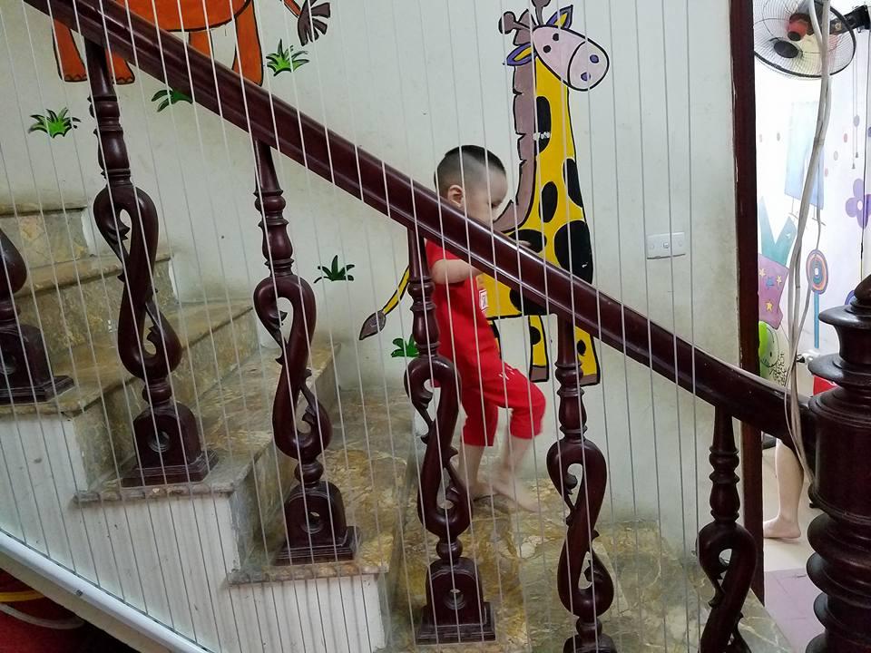 luoi an toan cau thang 2 1 - Lưới an toàn Cầu thang