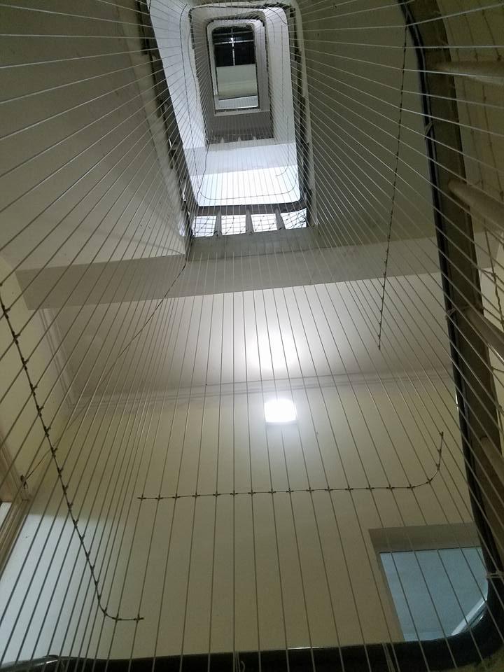 luoi an toan cau thang 2 2 - Lưới an toàn Cầu thang
