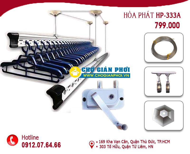 HP03 302082018 - Giàn phơi thông minh Hòa Phát HP-333