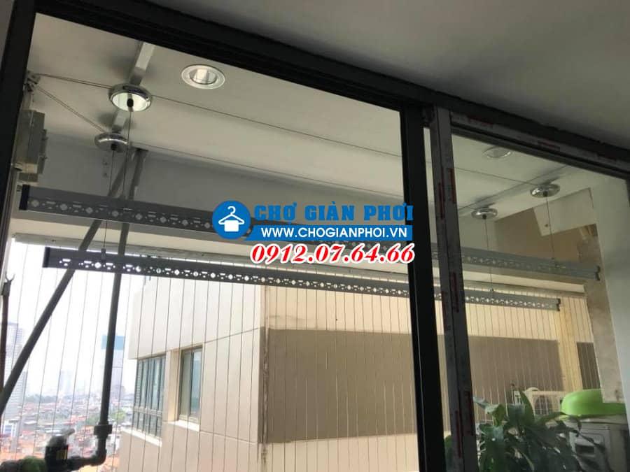 Lắp đặt giàn phơi thông minh Sankaku S03 – Chung cư Mellbury Lane – Mỗ Lao – Hà Đông