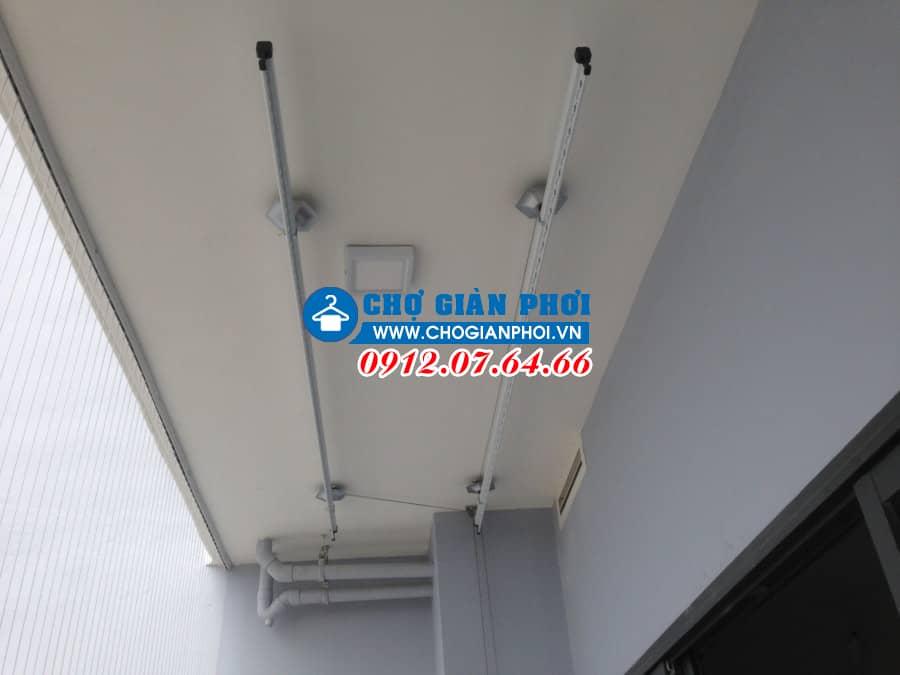 Lắp đặt giàn phơi HP999B và lưới an toàn Chung cư Gamuda Garden, Hoàng Mai, Hà Nội