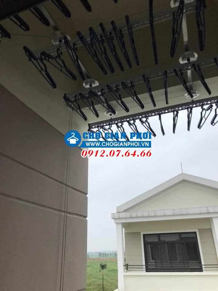 Lắp đặt giàn phơi thông minh HP701 – Biệt thự KĐT Tây Hồ Tây – Starlake Hà Nội