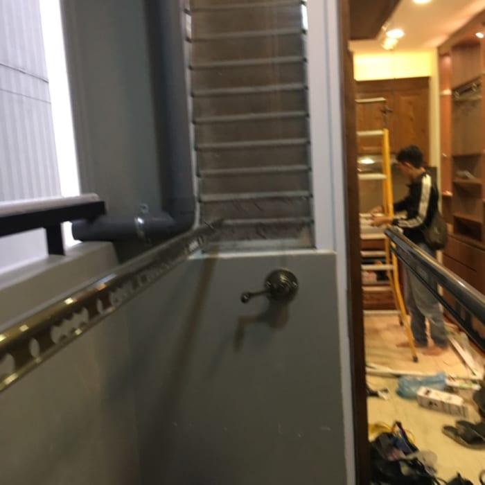 Lắp đặt giàn phơi tại Chung Cư Season Avenuse tòa Tháp S2 nhà Anh Hà ,bộ giàn phơi SANKAKU S06