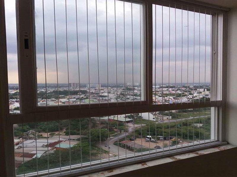 Lưới an toàn bảo vệ cửa sổ