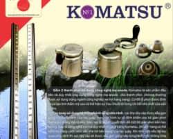 Giàn Phơi Thông Minh KOMATSU LUX888-BF (Model 2020) chống rối dây