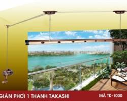 Giàn phơi 1 thanh nhật bản TAKASHI TK-1000